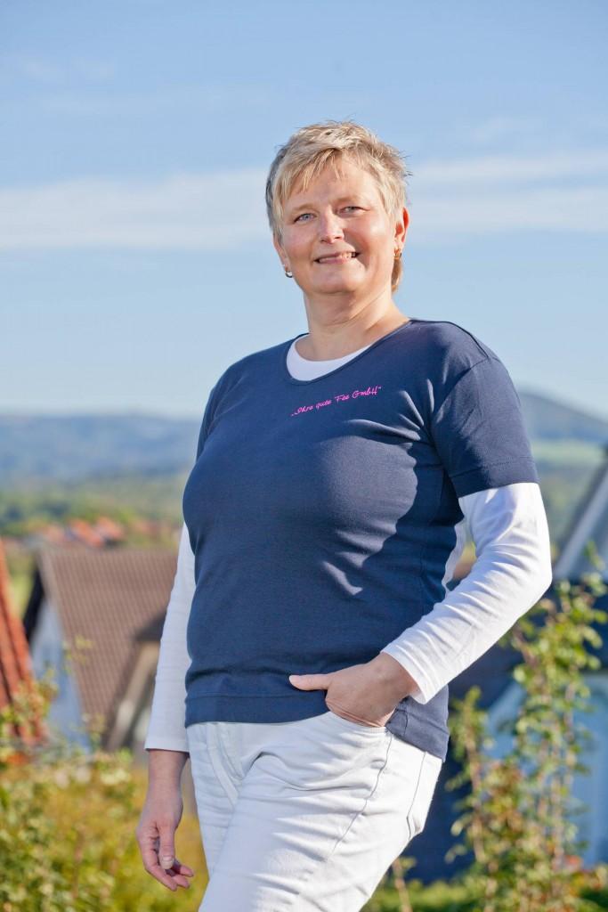 Sabine Schlöder, Inhaberin von Ihre gute Fee GmbH